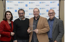 ED5 receive award at London Book Fair
