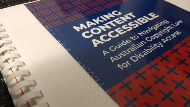 Cover of Making Content Accessible Report