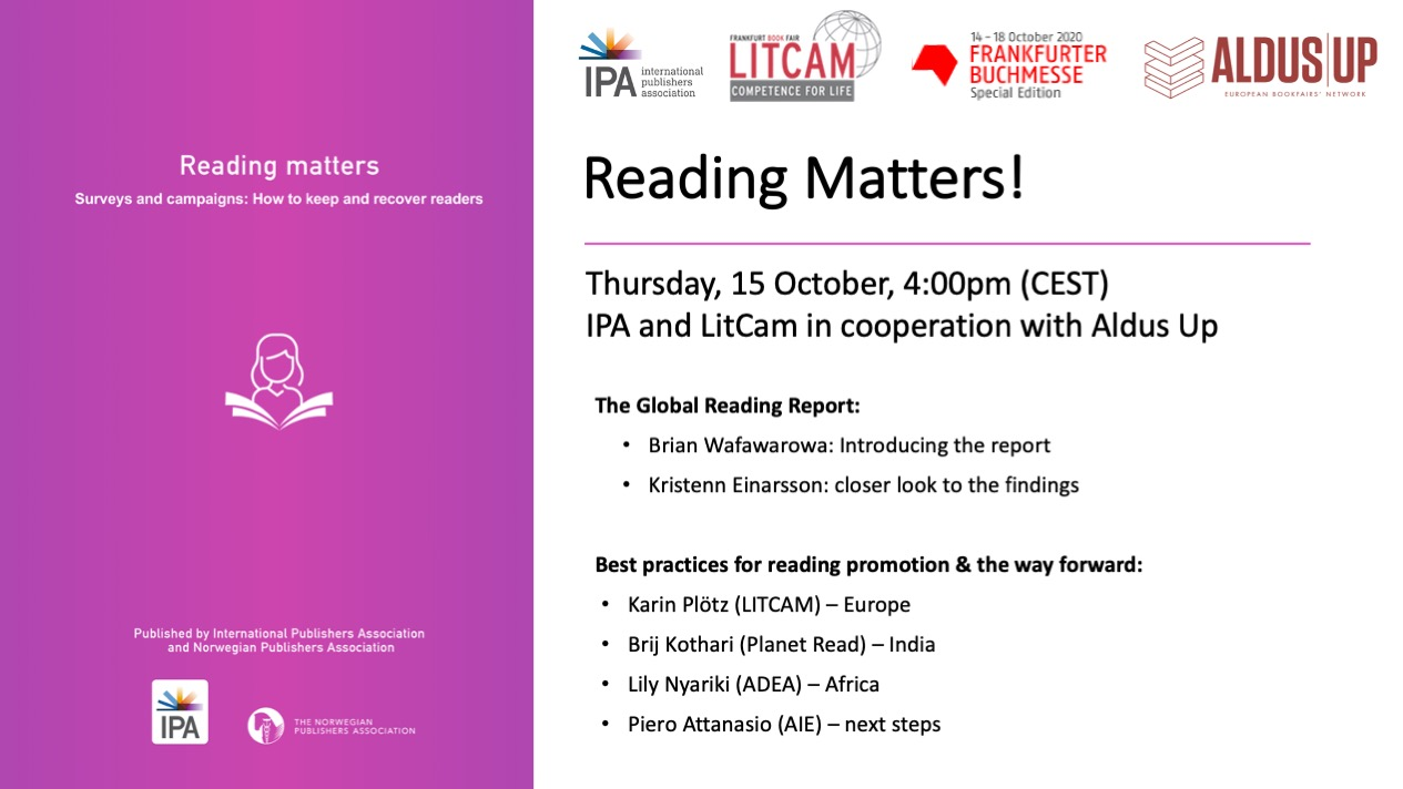 Reading Matters Promo